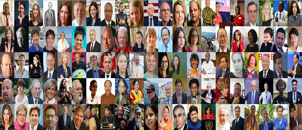 THE WORLD'S MOST INFLUENTIAL PEOPLE IN CLIMATE POLICY
