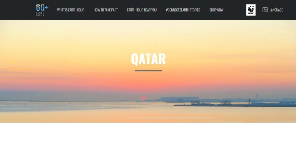 Country Focal Point – Earth Hour Qatar